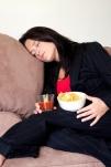 tidur habis makan